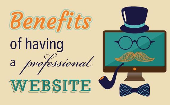benefits-having-professional-website