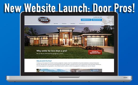 new-website-launch-door-pros