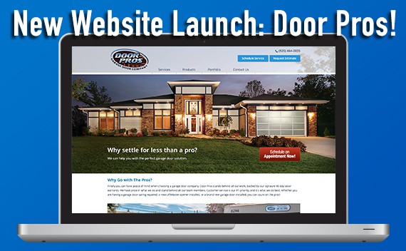 New Web Design Launch: Door Pros!