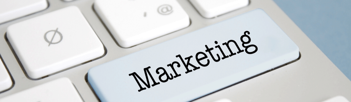 """A header image for """"What Marketing Materials Do I Need for my Business"""" on LOJO Marketing's Galactic Learning Center."""