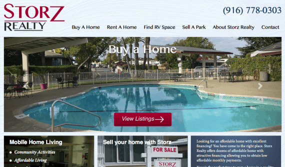 Storz_realty_roseville_web_design_launch