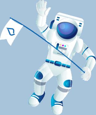 LOJO Custom Astronaut