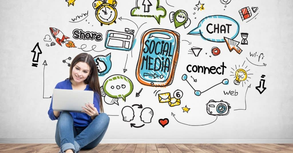 """A featured image from LOJO Marketing's article """"How is Social Media Part of My Business Branding?"""""""