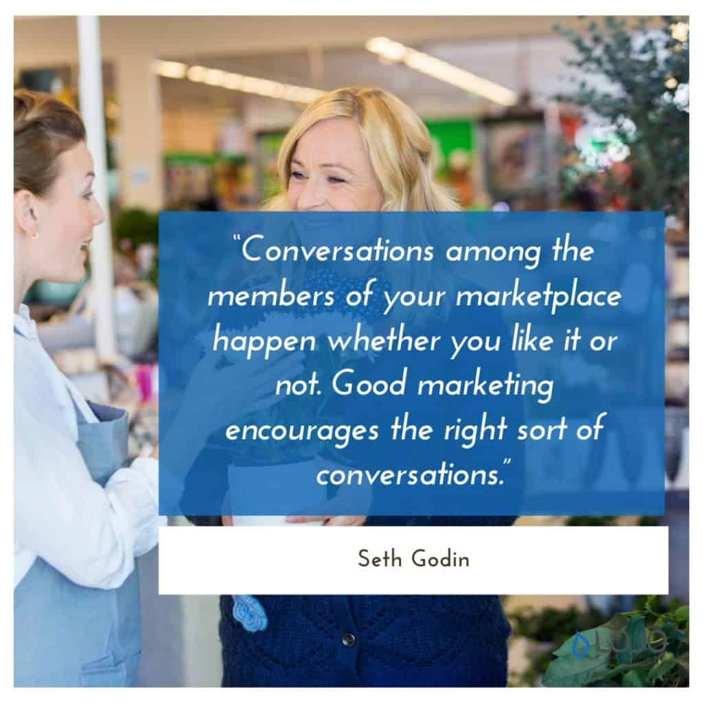 A quote from Seth Godin