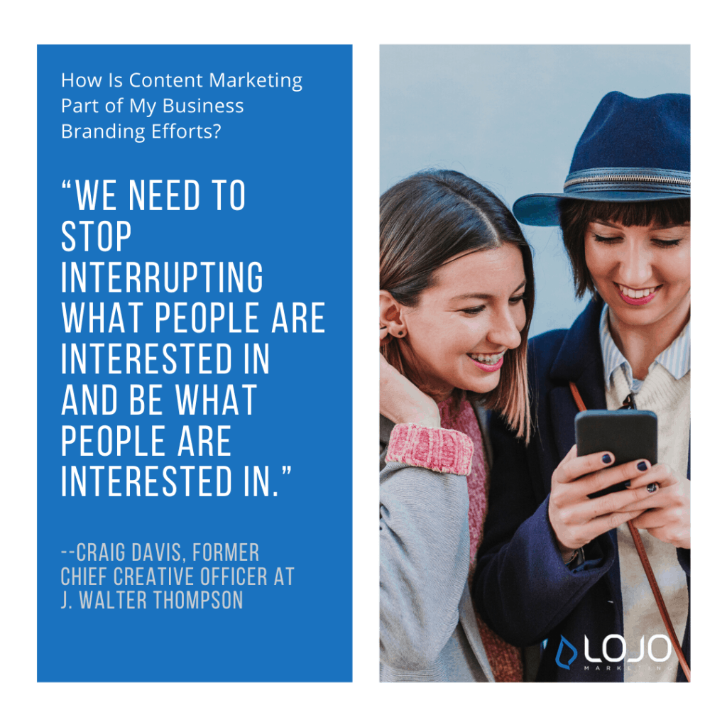 """A quote from Craig Davis 