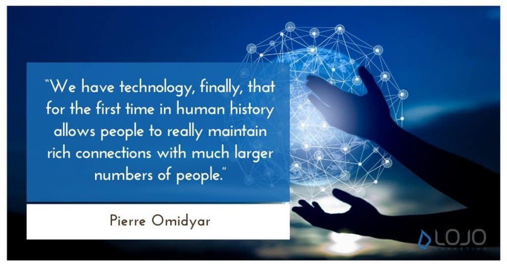 Pierre Omidya Quote