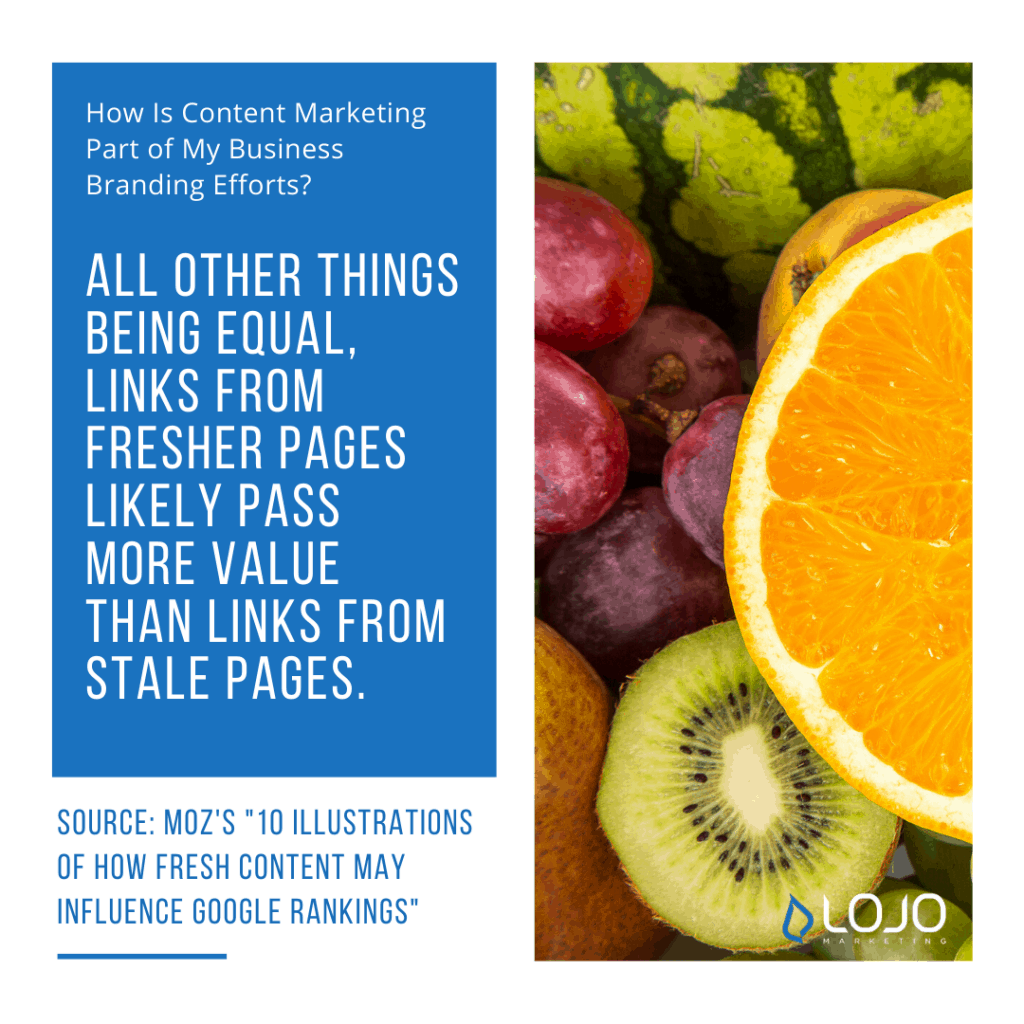 """A quote from MOZ.com 