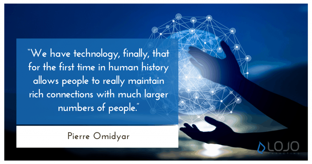 """A quote from Pierre Omidyar 