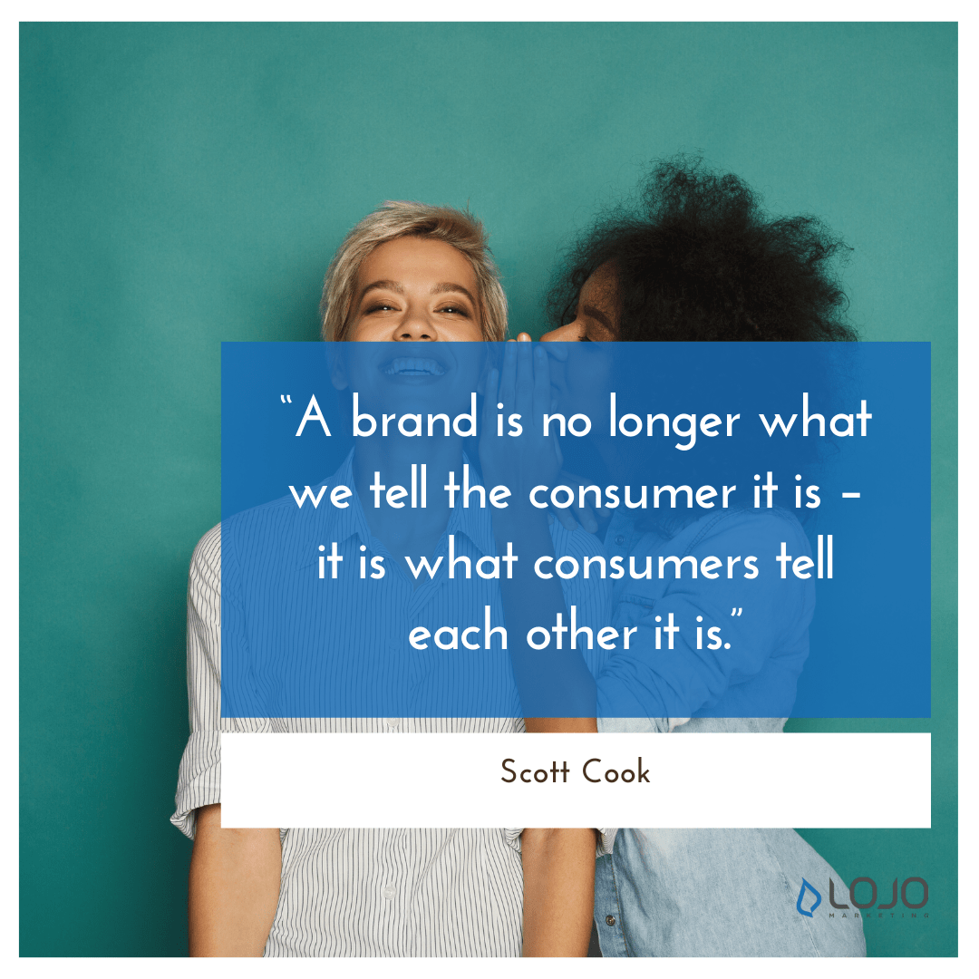 """A quote from Scott Cook 