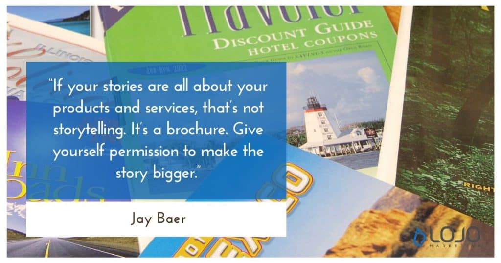 Storytelling Quote Jay Baer