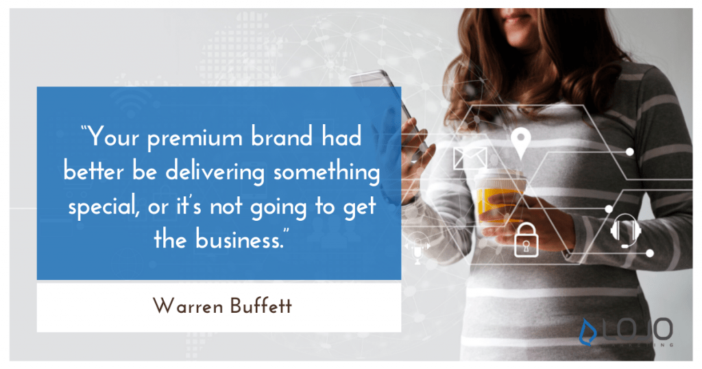"""A quote from Warren Buffett 