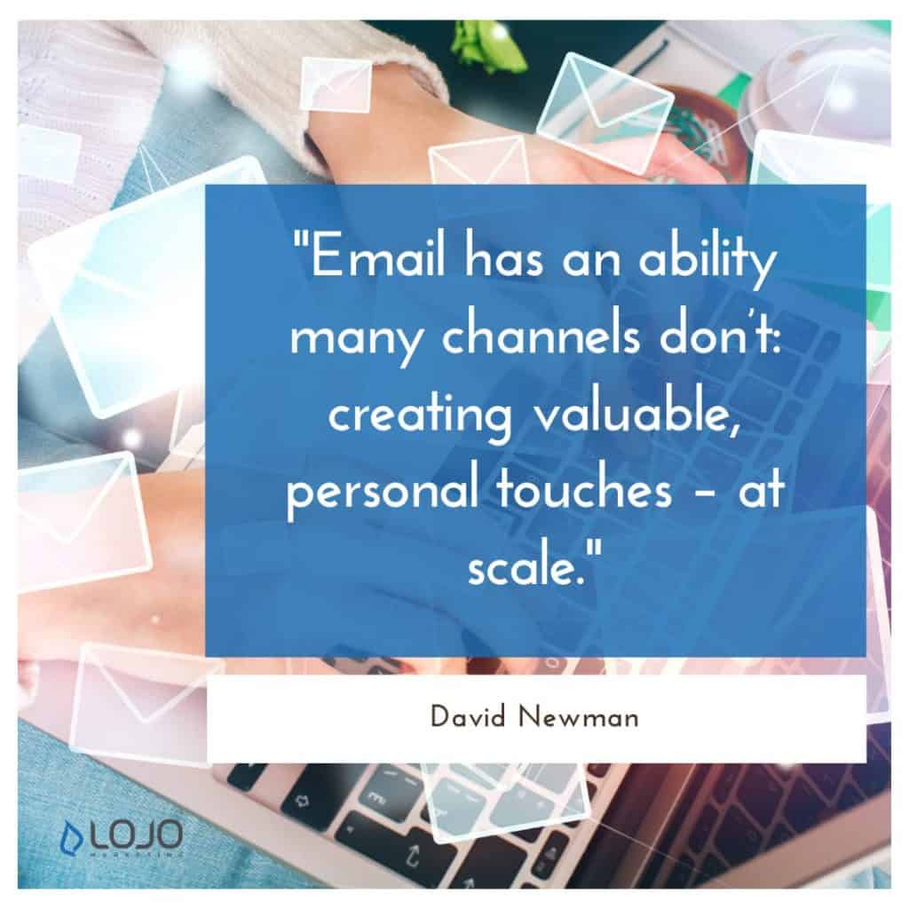 """A quote from David Newman 