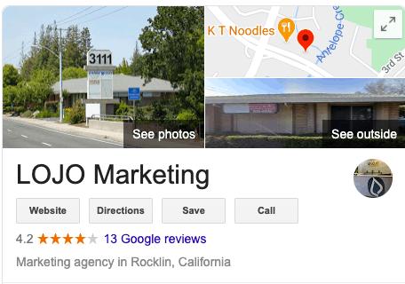 LOJO Marketing listing