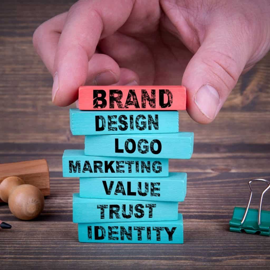 "An image illustrating the elements of branding | a featured image from the LOJO article, ""How To Successfully Launch Your Business Online"""