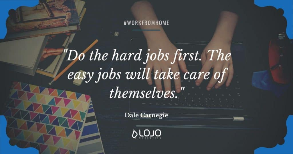 """Words of inspiration from Dale Carnegie 