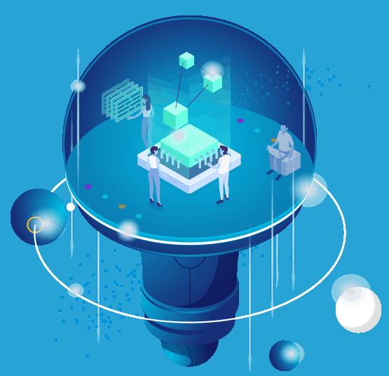 LOJO's Brand Development Custom Designed Space Station Icon