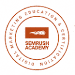SEMRush Academy SEO Marketing Logo