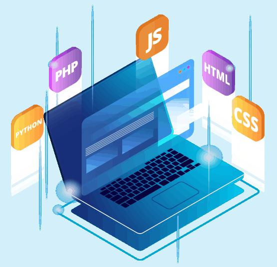 LOJO Website Design Laptop Icon Graphic