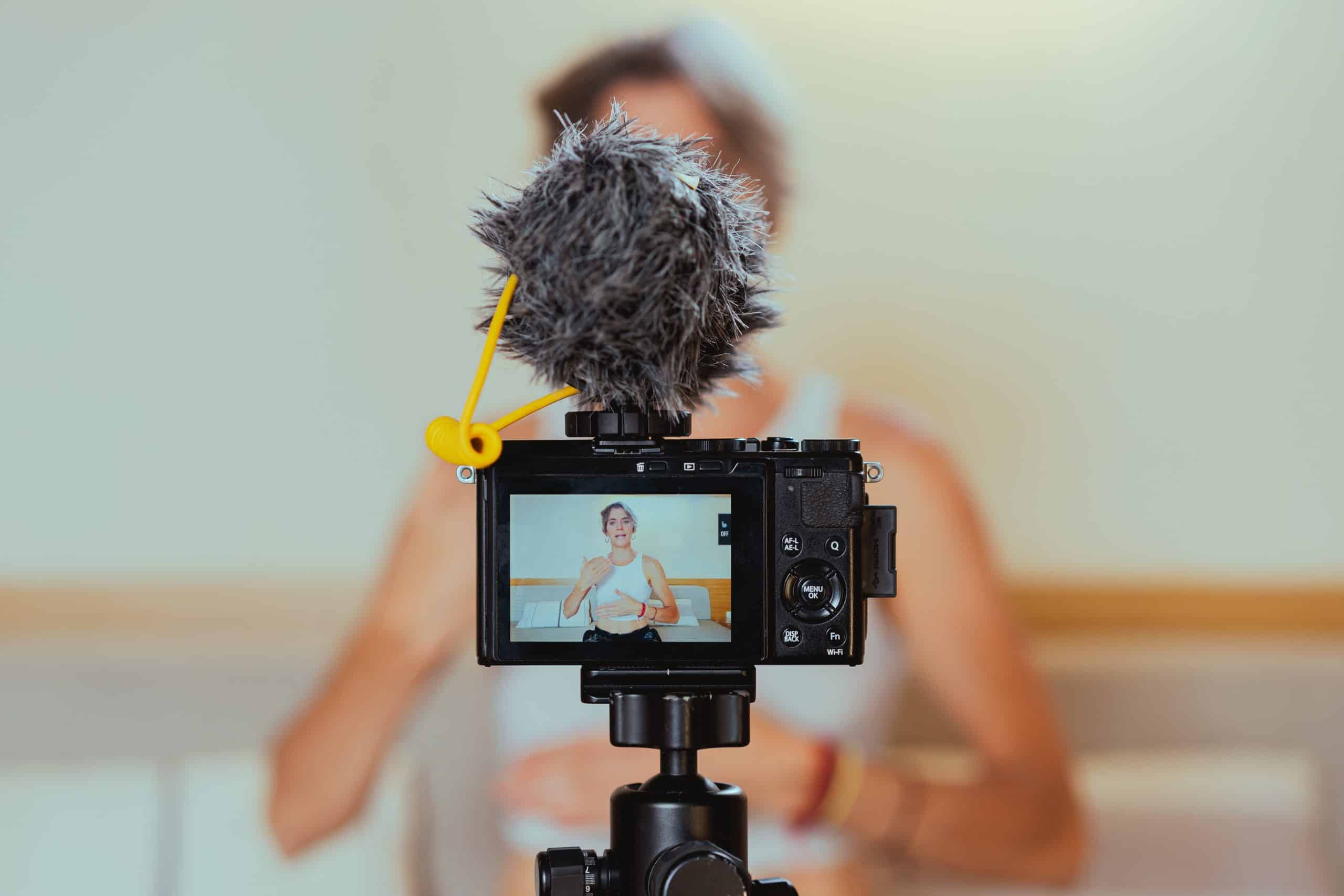 Adding music to social media video content