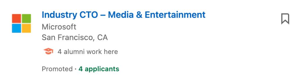 Single Job Ads 